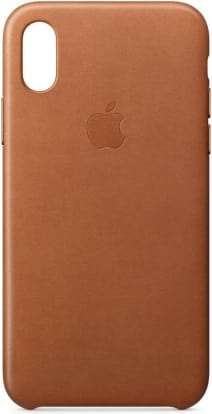 Product Image - Apple Leather iPhone X Case