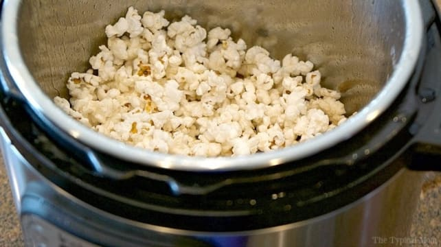 Instant Pot Popcorn