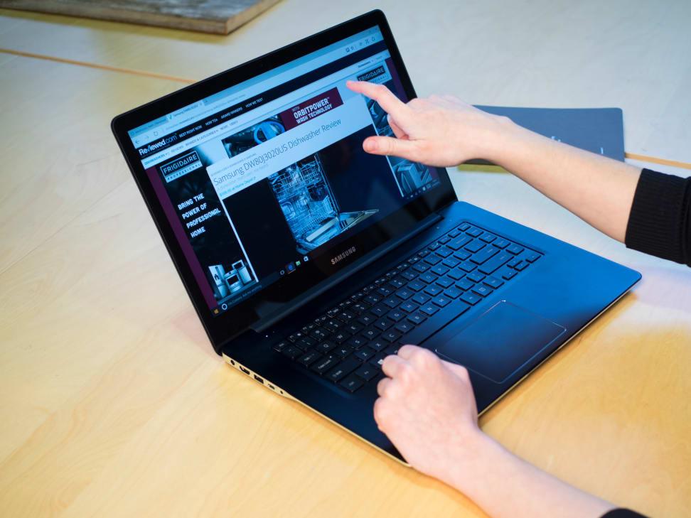 Samsung Ativ Book 9 Pro Touchscreen