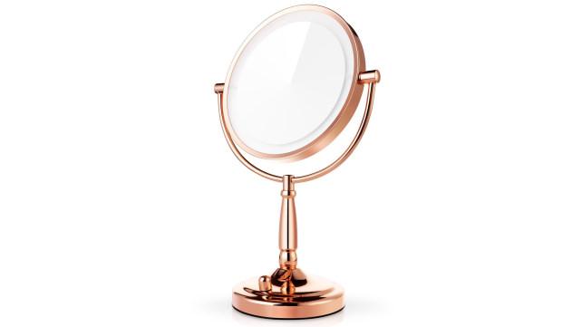 Miusco Rose Gold Vanity Mirror