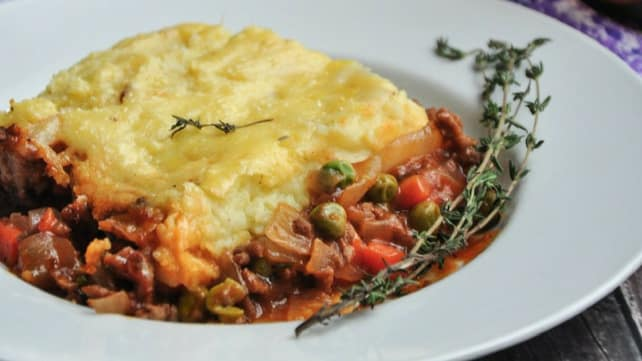 Traditional Shepards Pie