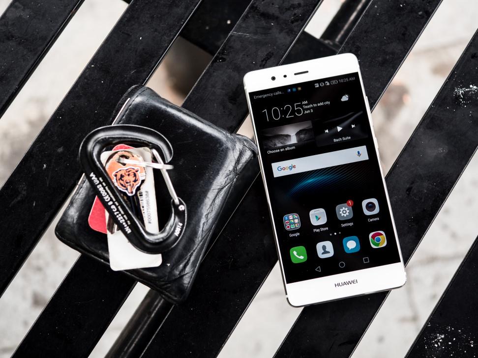 Huawei P9 In Use