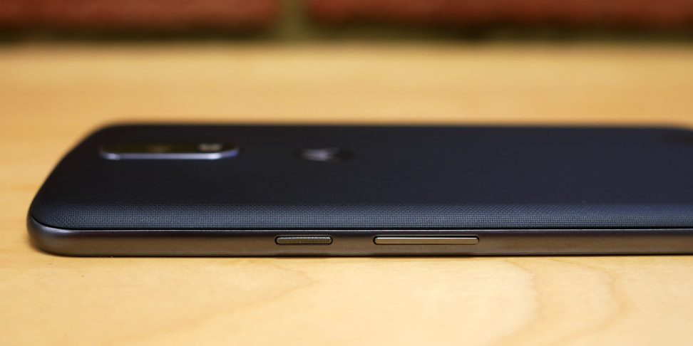 Motorola Moto G4 Plus Buttons