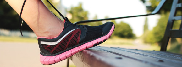 Pexels running shoe hero