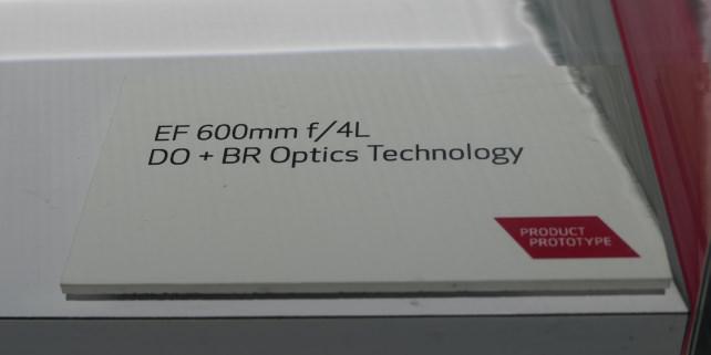 Canon 600mm f/4L DO BR Optics