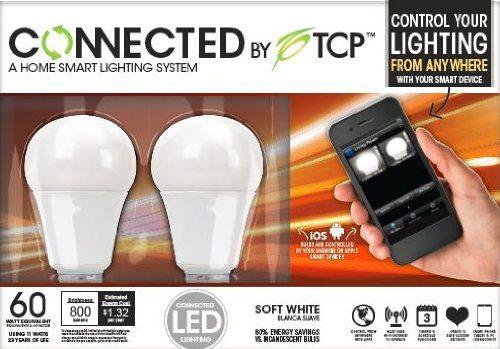 Product Image - TCP Connected Smart LED Light Bulb Starter Kit