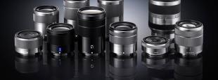 Sony e mount lenses hero