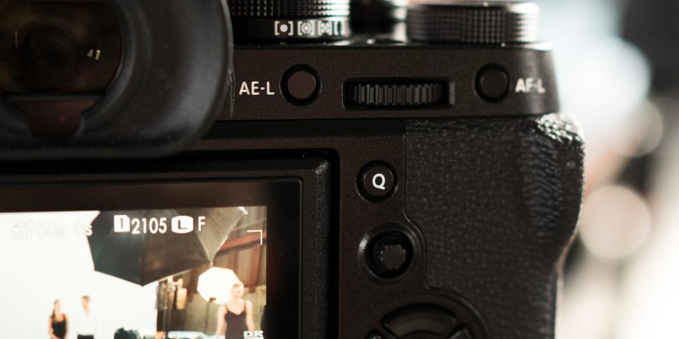 Fujifilm X-T2 rear controls