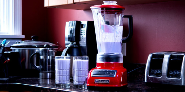 KitchenAid Diamond Blender Empire Red