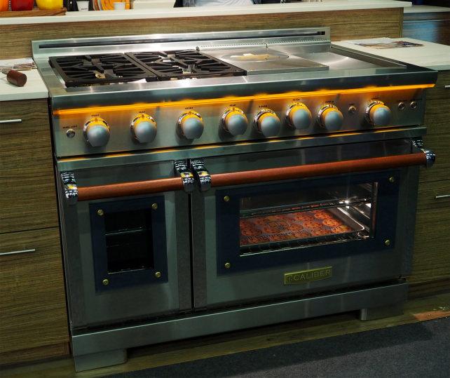 Caliber dual-oven range