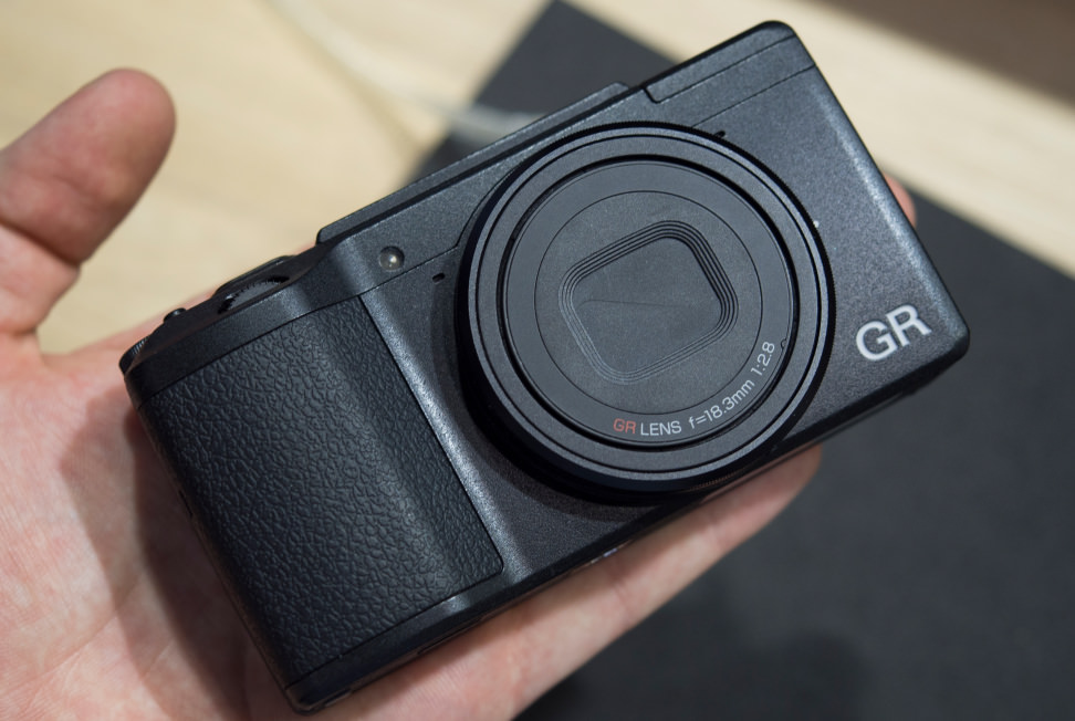 Ricoh GR II Front