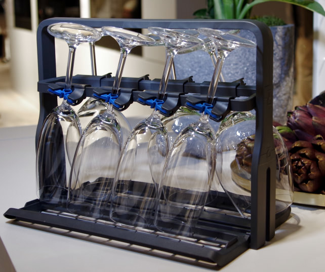 Electrolux Glass Basket On Counter