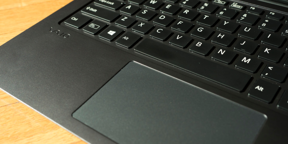 Vaio Z Flip Keyboard and Trackpad