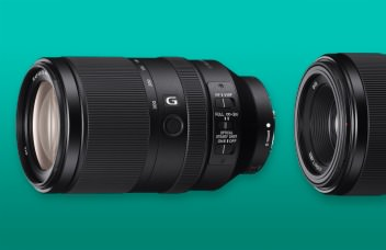 Sony lenses announcement