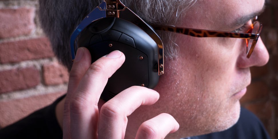 V-Moda Crossfade 2 Wireless In Use
