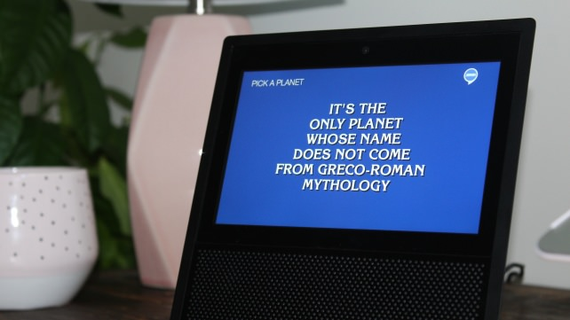 Jeopardy Amazon Echo Show