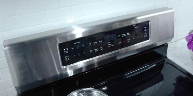 Frigidaire induction range controls