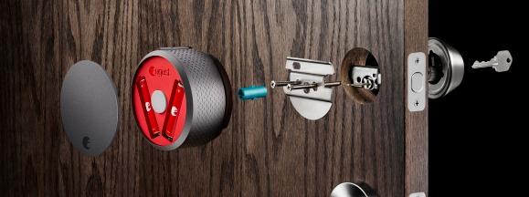 August smart lock hero