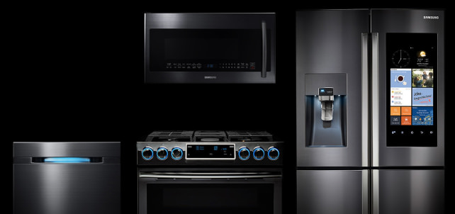every appliance that works with your iphone, android, alexa