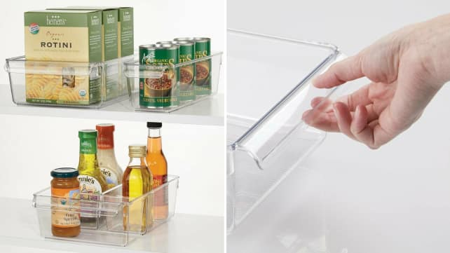 mDesign Kitchen Organizers