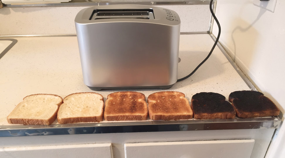 The best toasters - consistency