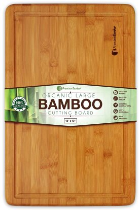 Product Image - Premium Bamboo Extra Large Bamboo Cutting Board