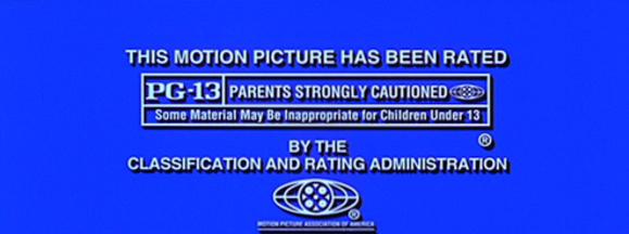Pg 13 rating screen