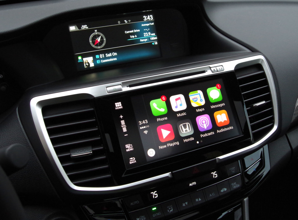 2016 Honda Accord Apple CarPlay Screen