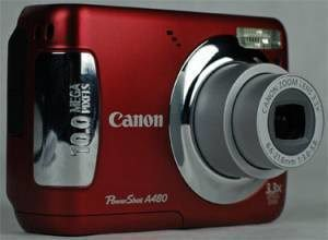 Product Image - Canon PowerShot A480