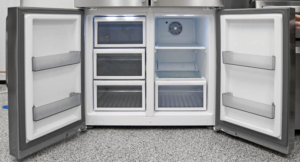 Dacor DTF364SIWS Freezer