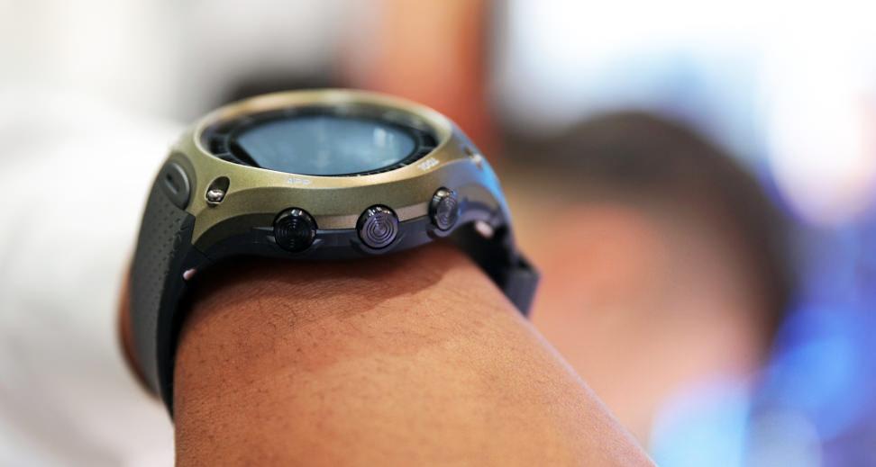 Casio Outdoor Smart Watch Buttons