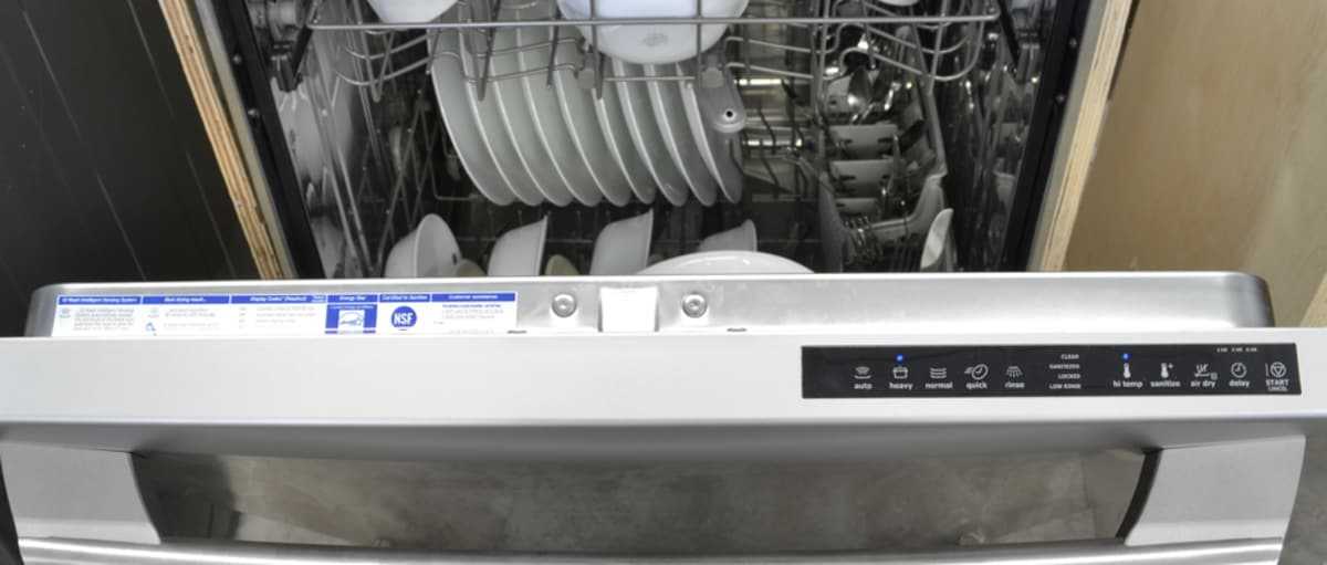 Electrolux Eidw5905js 24 Inch Built In Stainless Steel