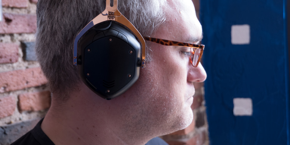 V-Moda Crossfade 2 Wireless In Use 2