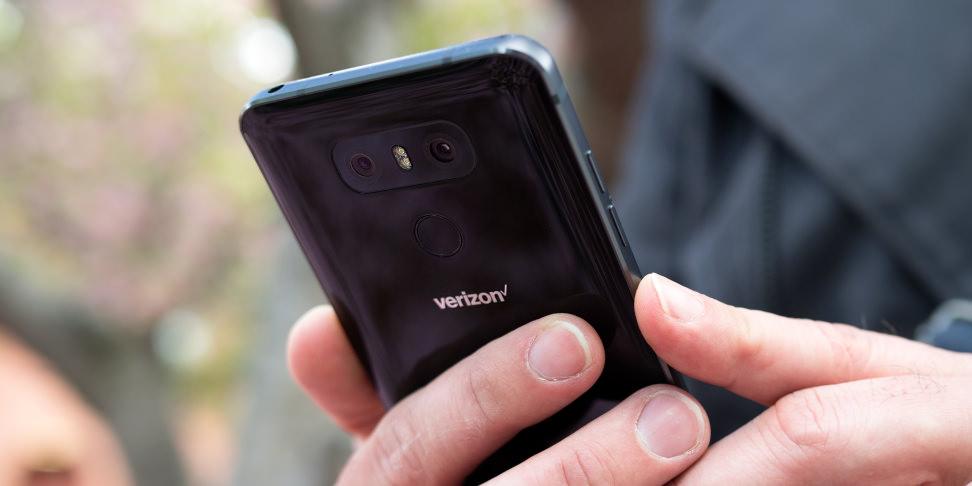 LG G6 Fingerprint Scanner